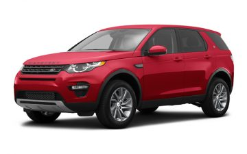 Reserva Land Rover Discovery Sport or similar
